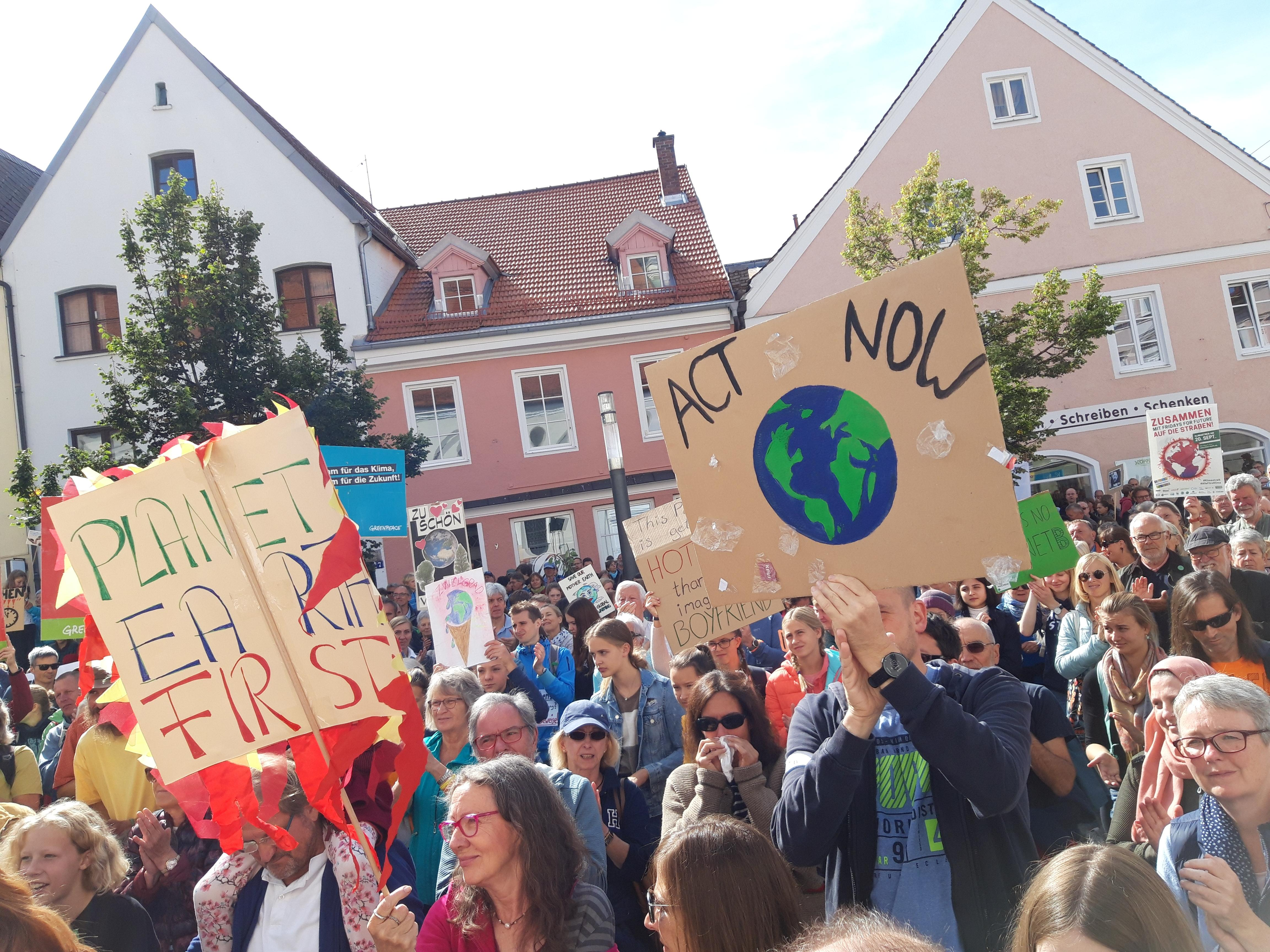 Fridays for Future in Weilheim